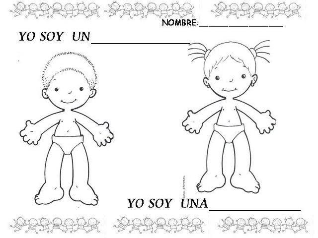 Imágenes Para Trabajar El Cuerpo Humano Maestra Jardinera