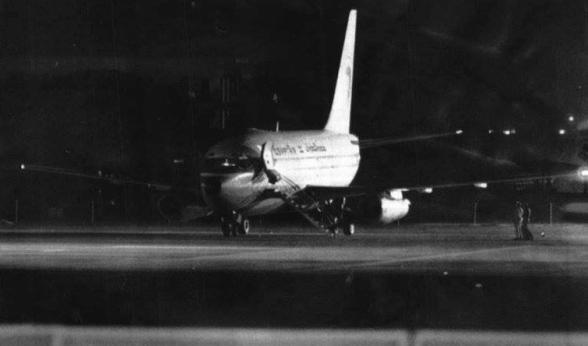 Il volo atterrato con i terroristi