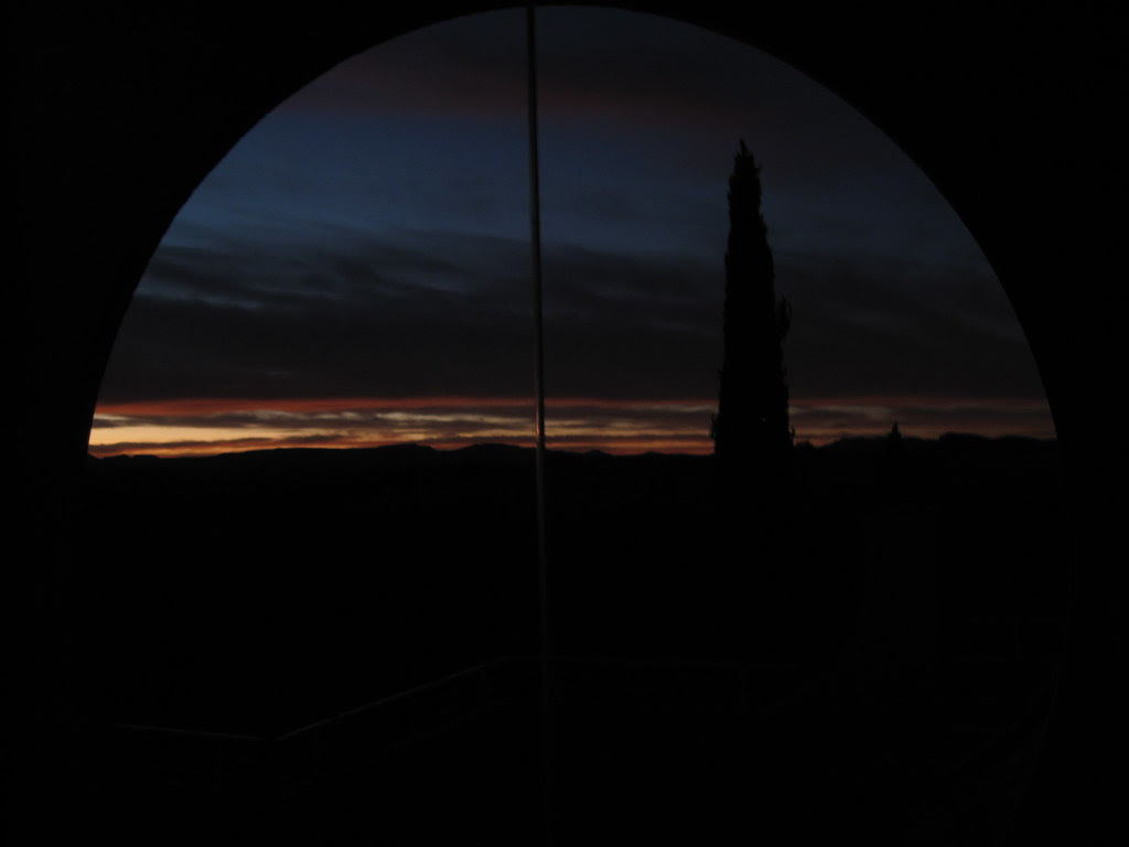 Sunrise at Arcosanti