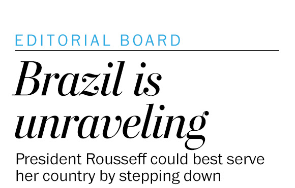 Brazil is on the brink of unraveling