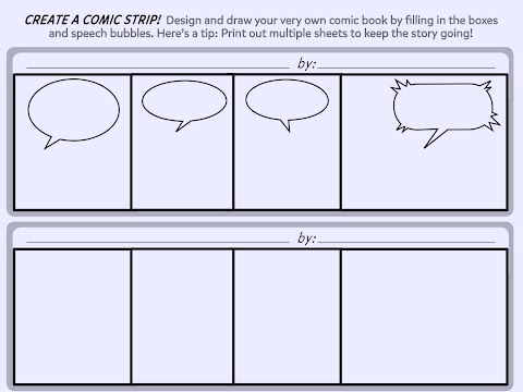Create A Comic Strip Printable