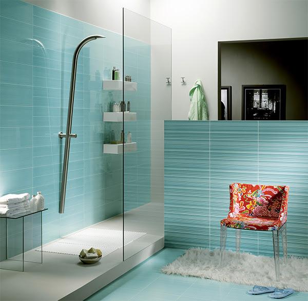 Bedroom Design Decorate: Modern Blue Bathroom Color Design ...