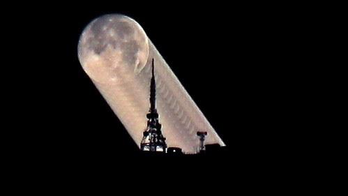 Moon Moving Layered