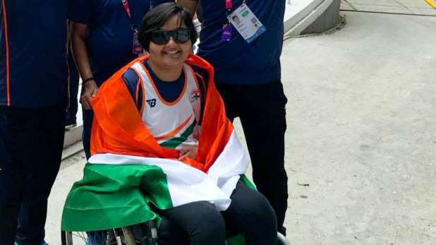 Image result for Asian Para Games 2018: Ekta Bhyan wins club throw gold medal for India