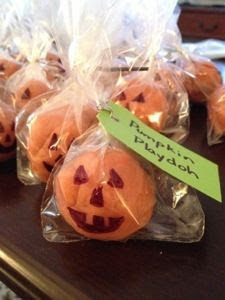 DIY Pumpkin Playdoh Recipe - Doyle Dispatch