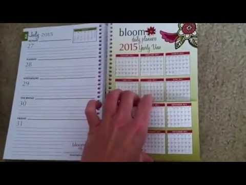 Bloom Daily Planner Review/Giveaway - YouTube