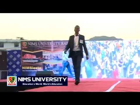 College Boys Ramp Walk in Freshers Party