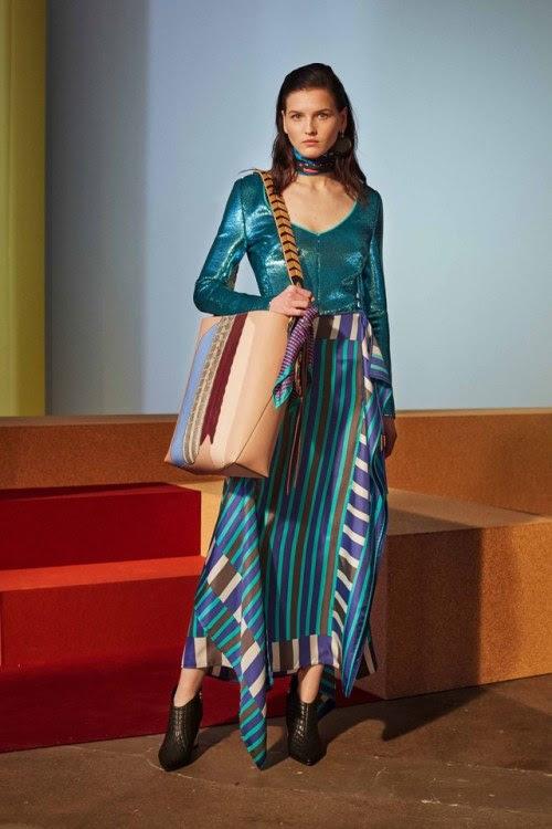 "maidsofbondstreet: ""Katlin Aas for Diane von Furstenberg, Fall 2017 """