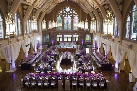 Lavish Purple Wedding at Agnes Scott College in Decatur