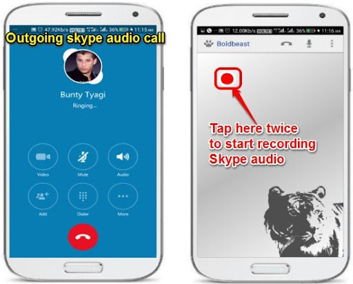 How to record Skype voice calls for Android