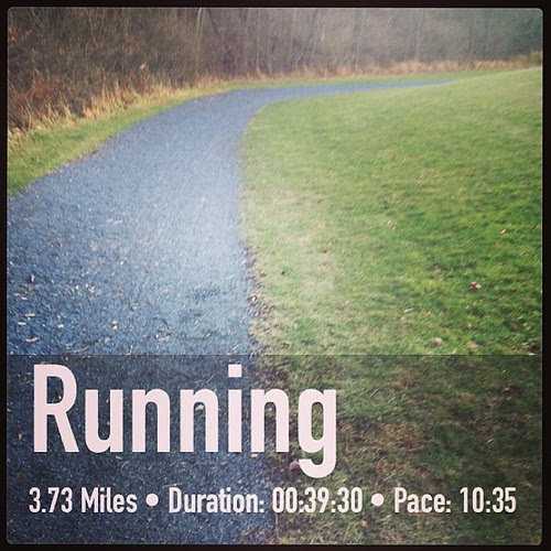Well that run sucked. 30 degrees and miserably slow #running #fitsnap