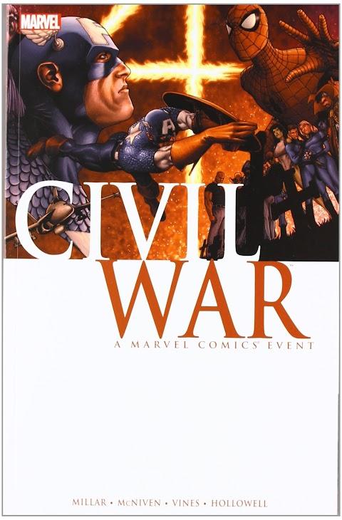 Civil War Comic Mark Millar