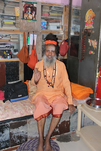 Shri Vijay Giri Maharaj of Juna Akhada by firoze shakir photographerno1