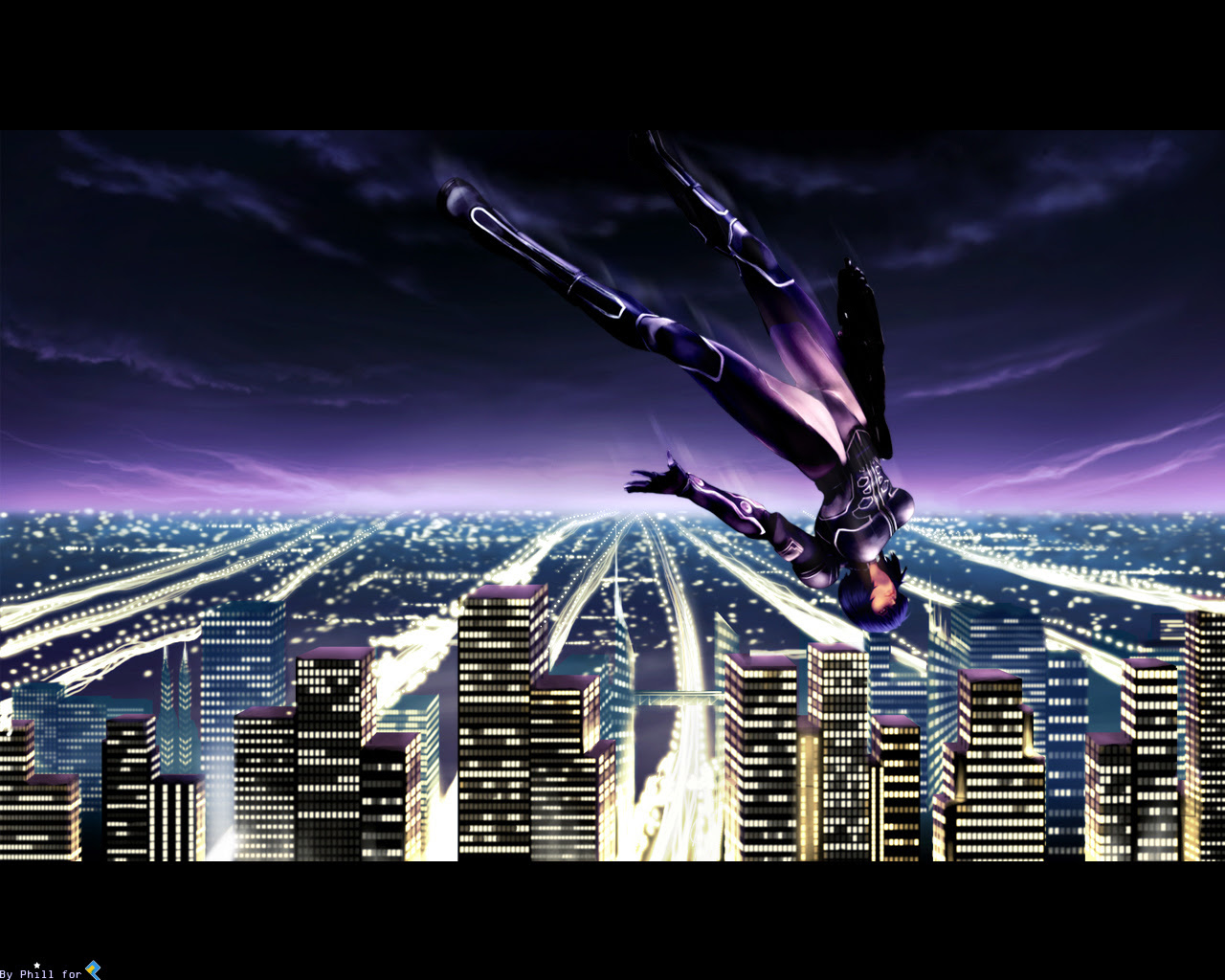 Ghost In The Shell Wallpaper Fly Minitokyo