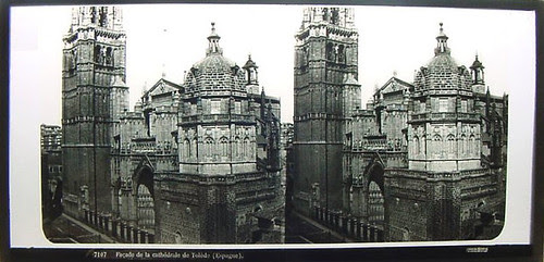 Fotografía estereoscópica de Toledo. Ferrier & Soulier