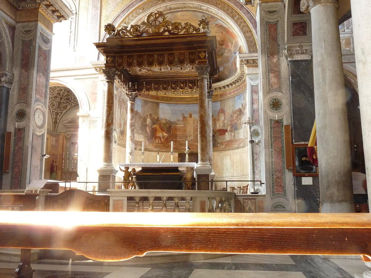 File:San Nicola in Carcere - Roma - Interior1.JPG