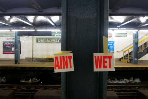 Ain't wet.