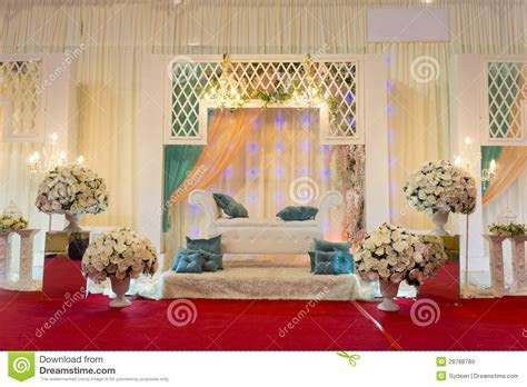 Modern Wedding Stage Royalty Free Stock Images   Image