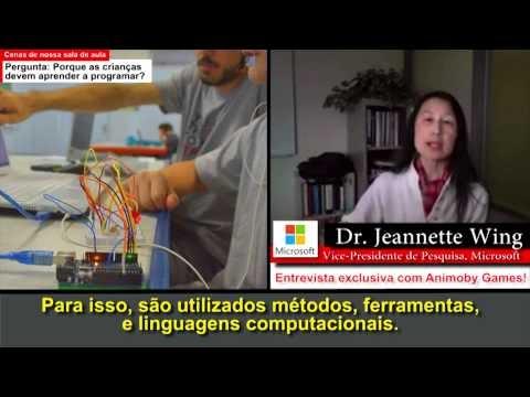 Entrevista com Jeannette Wing, vice-presidente da Microsoft Research