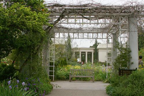 huntington romantic garden