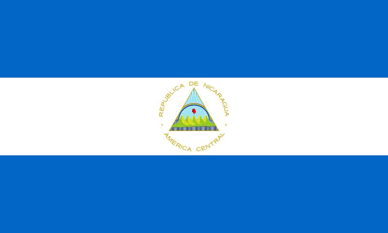 Ficheiro:Flag of Nicaragua.svg