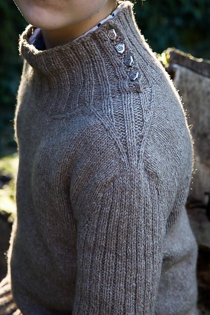Chandail tricoté Pullman par Christelle Nihoul