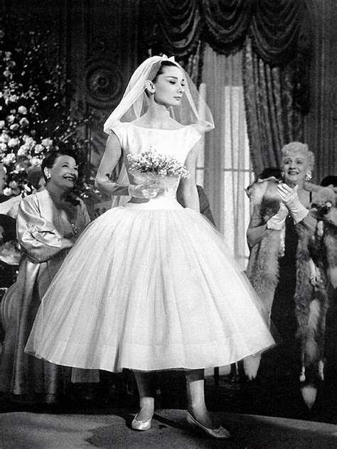 Iconic wedding dresses from the movies : 'Funny Face