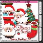 Fleece Navidad SE Clipart - CU