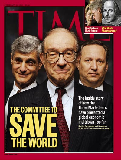 Image result for time magazine cover committee to save the world