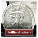 Coins Of America Silver Eagle coin