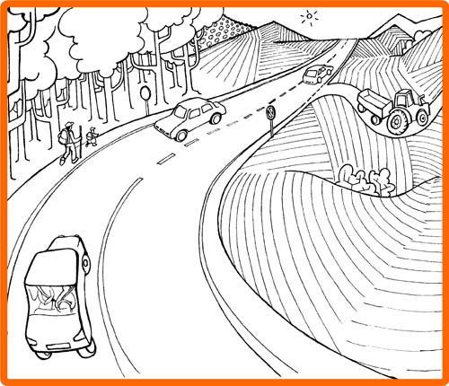 Carretera Dibujos Para Colorear Imagui