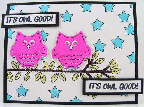 SOL September Good Owls Card