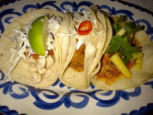 A Trio of Tacos at Chavela's Brooklyn