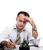 Η κατάθλιψη και η κούραση στο χώρο εργασίας απειλεί πολλούς εργαζομένους.