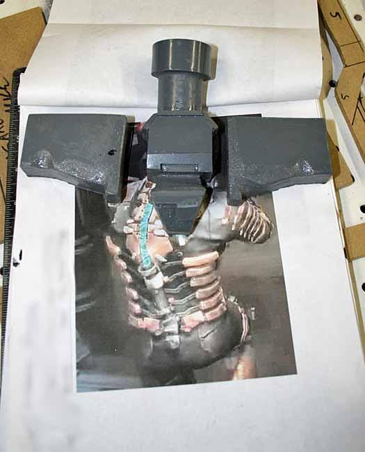 Isaac Clarke Tailbone parts