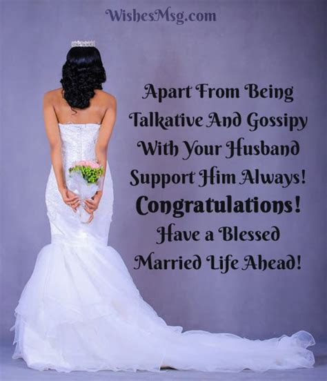 Bridal Shower Wishes : Wedding Shower Card Messages