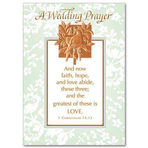 And Now Faith, Hope, and Love Abide: Wedding