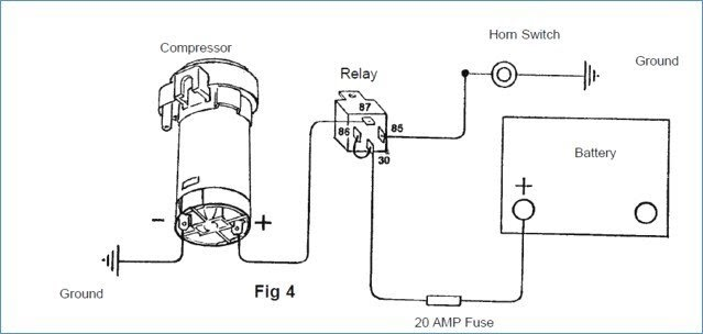 Relay Wiring Diagram For Air Horns | Wolo Wiring Diagram |  | Wiring Diagram