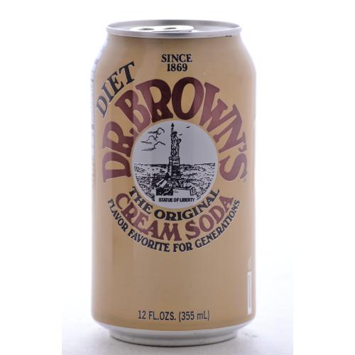 Dr. Brown's Diet Cream Soda | Kosher Sodas