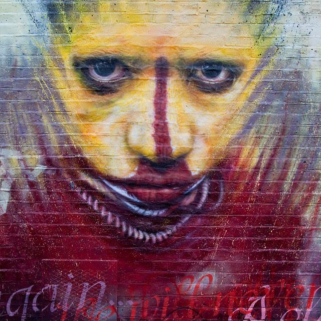 Dale Grimshaw's 'Culture Club' London Mural