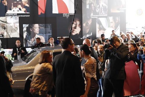 Van Damme mobbed at Cannes Film Festival 2010