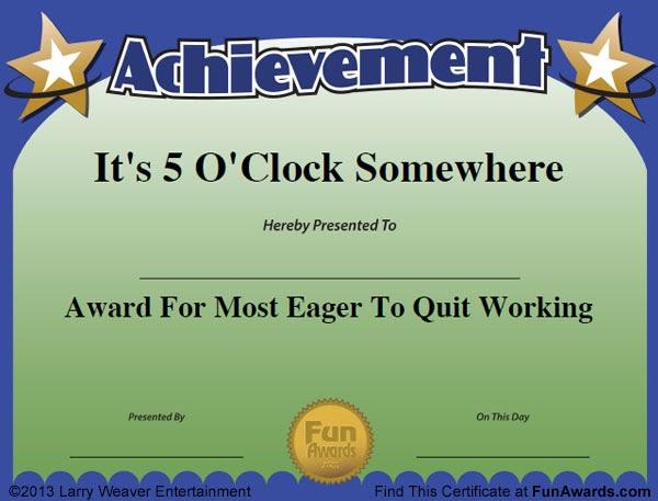 funny award ideas  funny award names