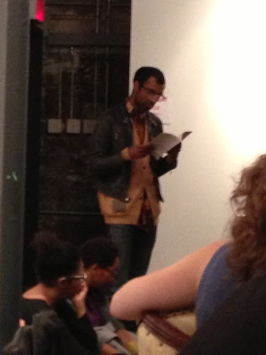 George Positive reading at Chris Stackhouse book launch