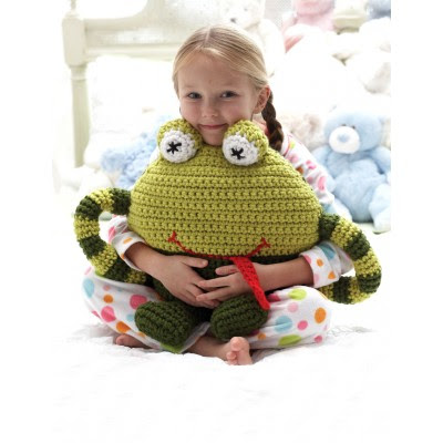 Huggable Frog Pillow