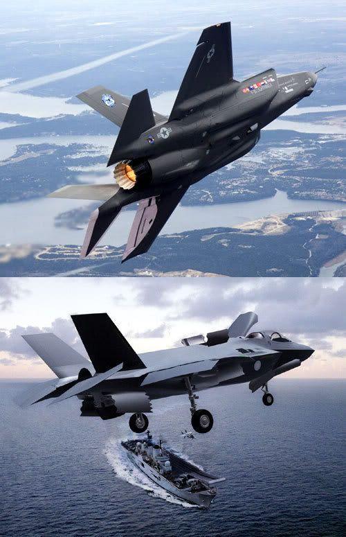 F-35 Lightning II montage.