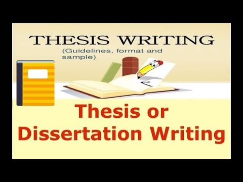 How to Write a Good Thesis or Dissertation  Step by Step Guidelines