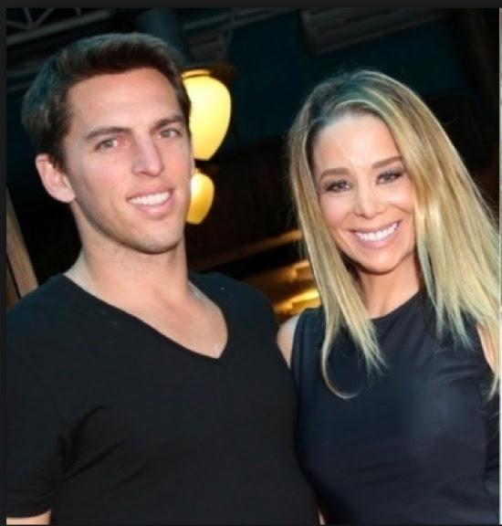 Amaury Nunes e Danielle Winits (Foto: AgNews)