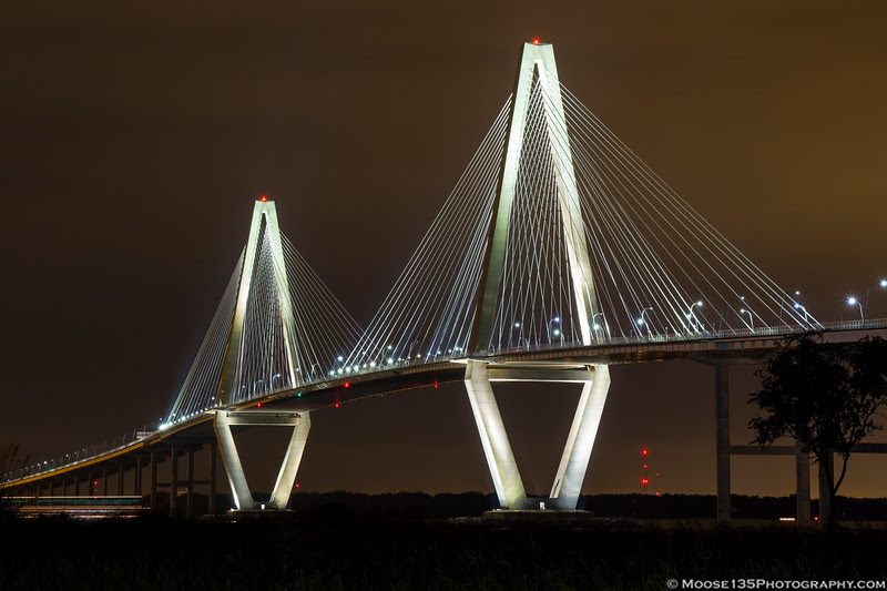 October 22 - Arthur Ravenel Bridge in Charleston, SC.