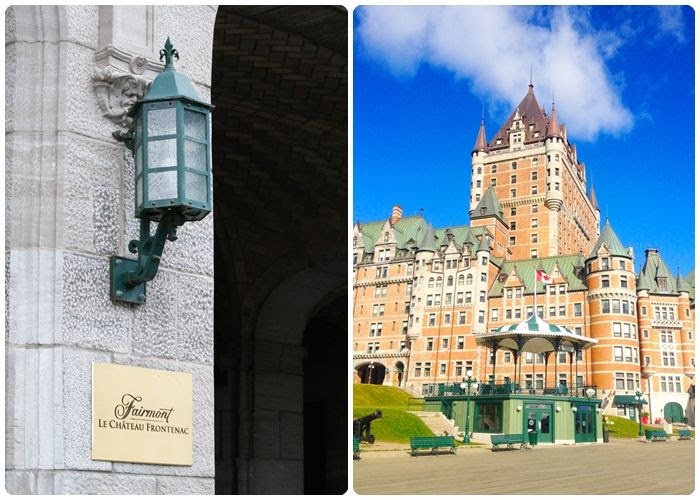 visiting Quebec City ... a photo tour (Le Chateau Frontenac)