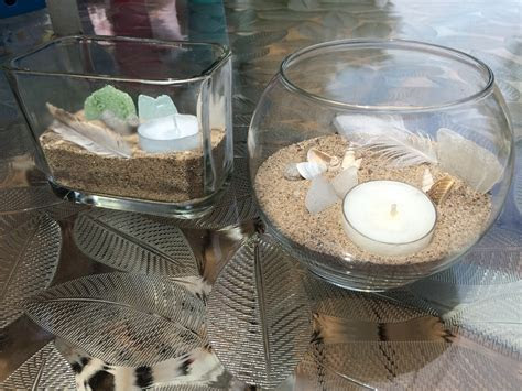Beachy Candle Holders